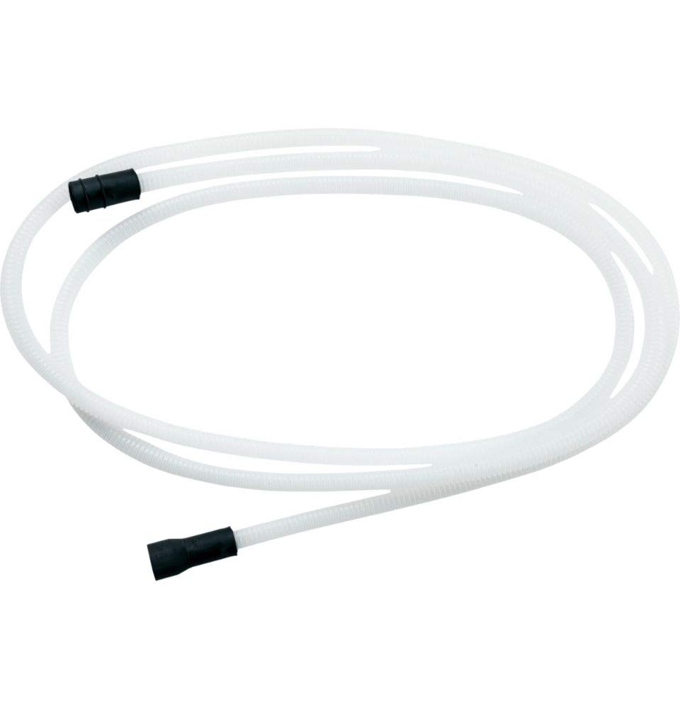 "GE WD24X10065 12' Drain Hose Extension, Includes Drain Port, English, Plastic, 15.34 fl. oz, 2"" x 17"" x 15"""