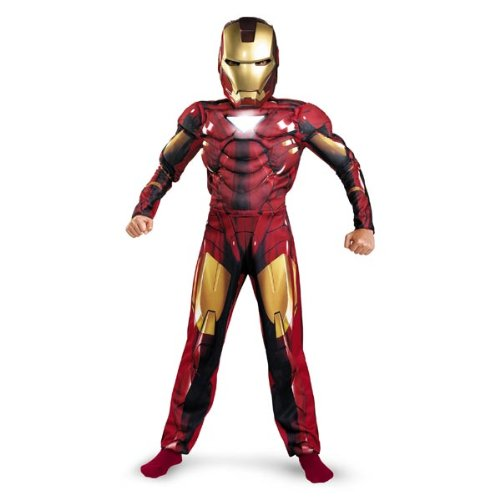 Iron Man 2 Mark 6 Classic Muscle Costume Child S(4-6) (Toy)  sc 1 st  Halloween Majo : iron man costume for girls  - Germanpascual.Com