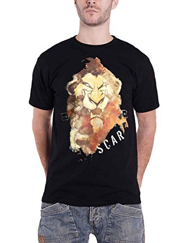 [해외]Lion King T Shirt Scar Portrait Logo 새로운 공식적인 Disney 남성 / Lion King T Shirt Scar Portrait Logo New Official Disney Men`s