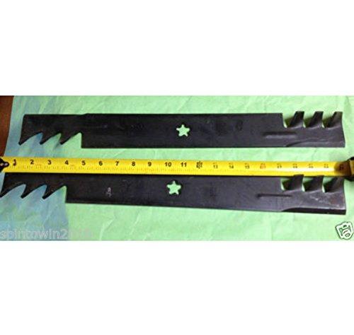 Mulching Premium Blade (USA Premium Store 4 Mulching Mower Blades Husqvarna RZ4623 46