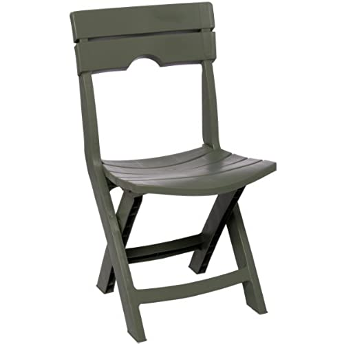 Adams Manufacturing 8575 01 3700 Quik Fold Chair, Sage