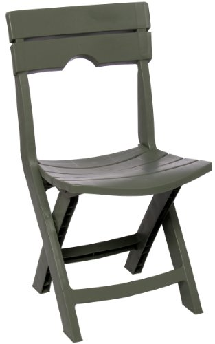 Adams Manufacturing 8575-01-3700 Quik-Fold Chair, Sage
