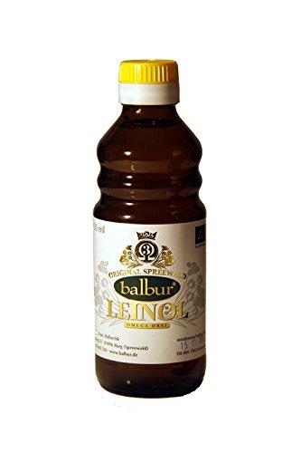 Bio-Leinöl aus dem Spreewald 500 ml - Omega-3-Fettsäuren