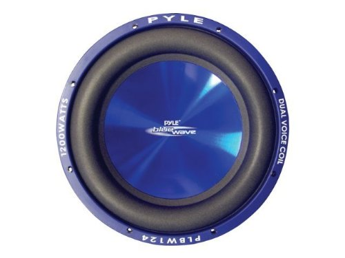 Pyle PLBW84 Blue Wave 8-Inch 600-Watt High-powered Subwoofer