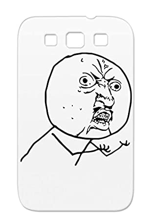 Mad Meme Face Funny Cartoon Furious Faces Frustrated Angry Crazy Rugged Protective Case For