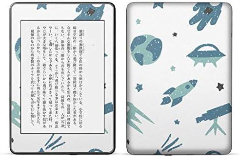 igsticker kindle paperwhite 第4世代 専用スキンシール キンドル ペーパーホワイト タブレット 電子書籍 裏表2枚セット カバー 保護 フィルム ステッカー 016080 宇宙 模様 かわいい