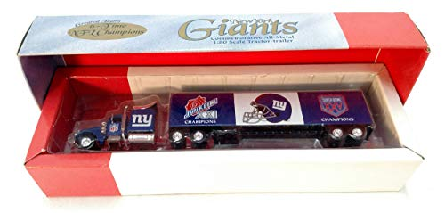 New York Giants Greatest Teams Series Commemorative Limited Edition Die Cast Tractor Trailer