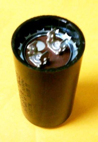Motor Start Capacitor 270-324 MFD 220-250VAC ()