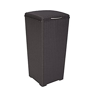 Wicker Garbage Cans