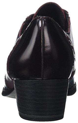 Rojo Bordeau Tamaris Merlot 23313 Oxford Zapatos de Cordones Mujer para 60qxw68S