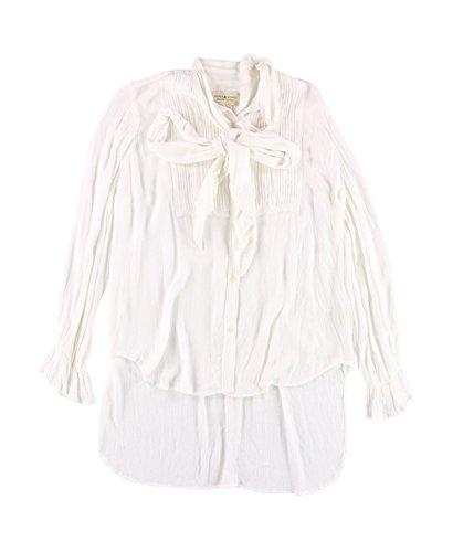 - Polo Ralph Lauren Denim & Supply Ralph Lauren Tuxedo Blouse White Medium