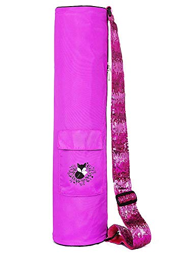 Fox Hill Fitness Yoga Mat Bag for Kids, Sling Carrier with A