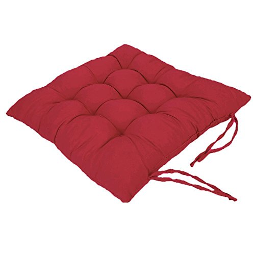 Chair Pads Cushion Pad Seat Chair Patio Home Car Sofa Office Square Kitchen Chairs Covers Pillow Perfect Indoor Outdoor Polyester 16