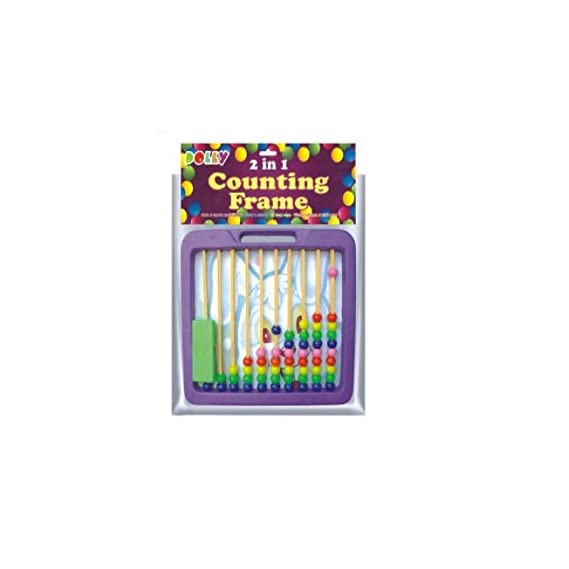 Dolly 2in 1 Counting Frame- Purple