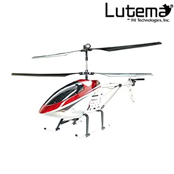 Lutema Large 3.5CH Remote Control Helicopter, Red