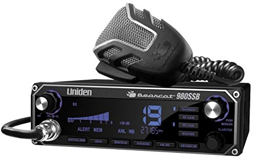UNIDEN BEARCAT 980 40-CHANNEL SSB CB RADIO w/ 7-COLOR DIGITAL DISPLAY by Uniden (Image #2)