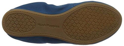 Hush Puppies Dark 236 Teal Azul HW06056 Mujer Bailarinas S11qrOW