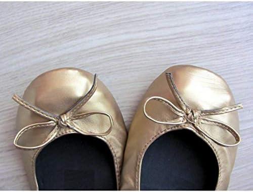 Bailarinas plegadas de Bodas Pack de 50 Pares Talla M y L Colores Oro,Plata,Bronce,champan.