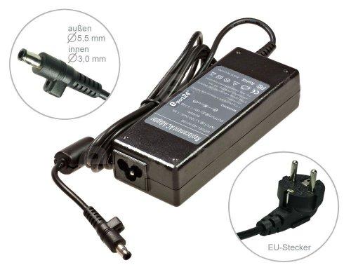Notebook Netzteil AC Adapter Ladegerät für Samsung R505 R530 R580 R590 R719 R730 R780 RC510 RC520 RC710 RF510 RF700 RF710 RF712 RV720 S300 S310 kompatibel mit G-G15 GT-GT6000 GT-GT7000 GT-GT8000 GT-GT9000. Mit Euro Stromkabel. Von e-port24®