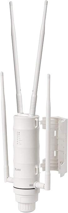 7links Acceso INALÁMBRICO A Internet Antena: Repetidor WLAN Exterior Resistente a la Intemperie con 1200 Mbit/s, para 2,4 y 5 GHz (Acceso INALÁMBRICO ...