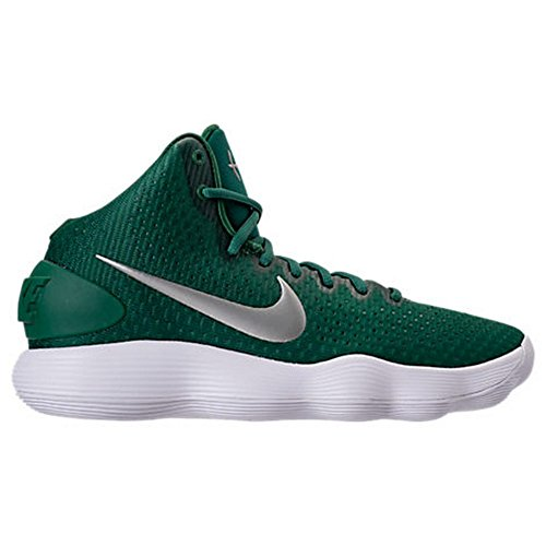 Green Men's Hyperdunk React 2017 Gorge Basketballschuhe M Silver Green 9 NIKE 04fUxwqdU