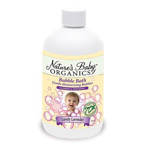 Nature's Baby Organics 12 oz. Bubble Bath - Lovely Lavender by Nature's Baby Organics