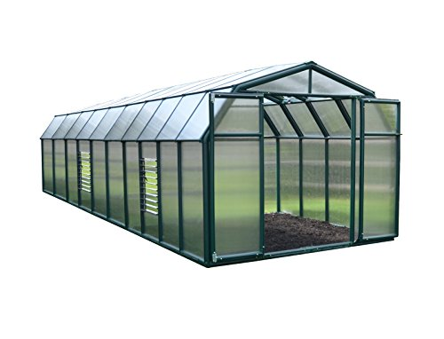 Glass Greenhouse Kit - Rion Gardener 2 Greenhouse - 8' x 20'