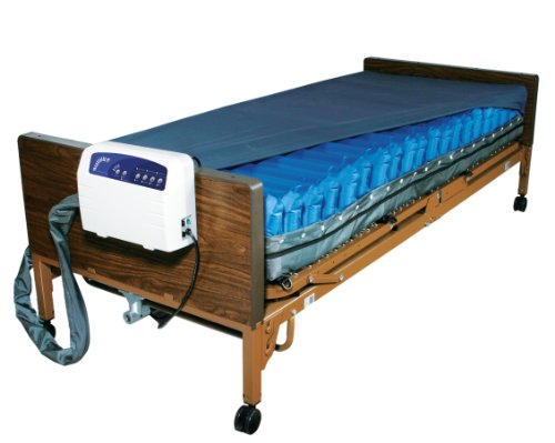 Drive Medical Med Aire Low Air Loss Mattress Replacement System with Alarm, 8