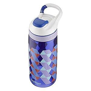 Contigo Auto Seal Courtney Kids & Tweens Water Bottle, 20 oz, Cerulean