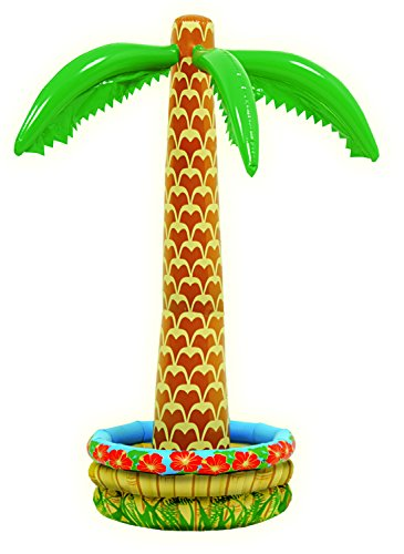 Funny Fashion Inflatable Palm Tree Cooler]()