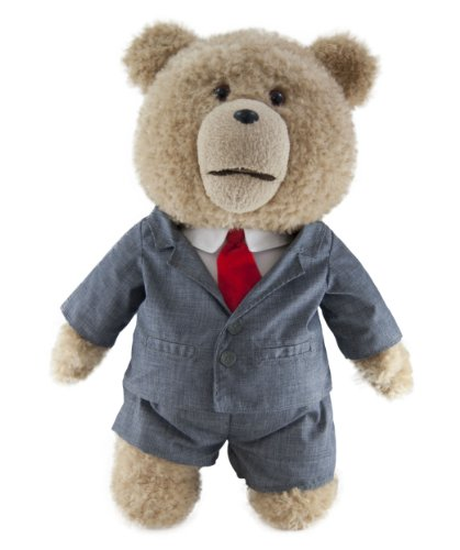 "41VfHBAyoKL - Ted in Suit  24"" Plush Toy with Sound"