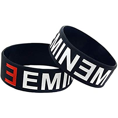 Relddd Silicone Bracelet Eminem Wrist band Creative Gift set pieces Estimated Price £23.99 -