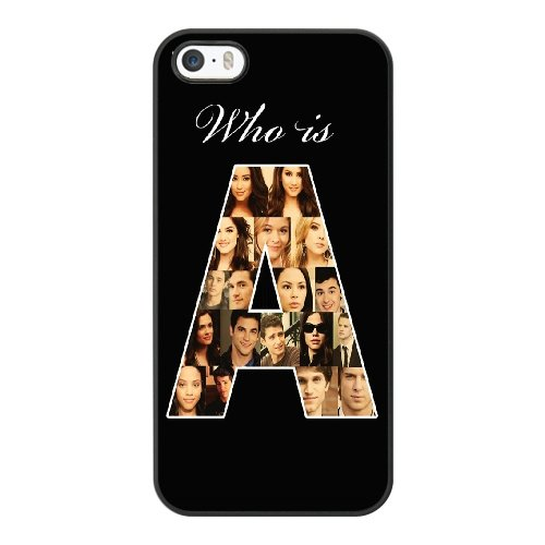 Coque,Coque iphone 5 5S SE Case Coque, Pretty Little Liars Cover For Coque iphone 5 5S SE Cell Phone Case Cover Noir