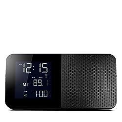 Braun BNC010BK-SRC AM/FM Quartz Alarm Clock