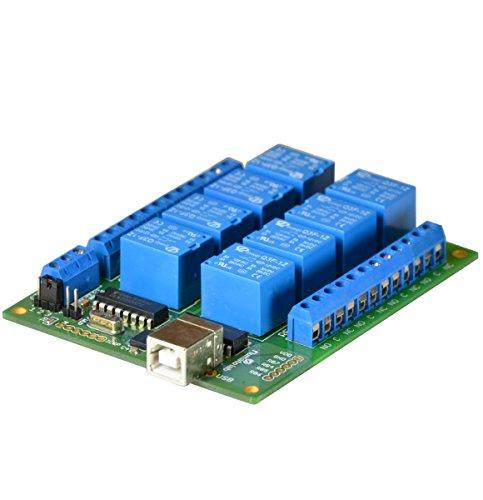Numato Lab 8 Channel USB Relay Module (Board Relay Serial)