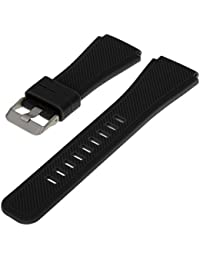 Watch Band Silicone Watch Replacement Strap Color Watch Strap for Samsung Gear S3 Classic and Frontier