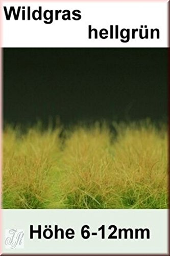 Reality In Scale 1:35 54mm Grass Tuft XL Light Green 6-16mm Tall 40 Tufts #GL015