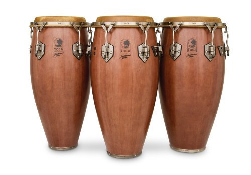 Toca 3911D Traditional Series Quinto - Dark Wood Finish KMC Music Inc
