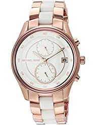 Michael Kors Womens Briar Rose Gold-Tone Watch MK6467