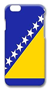 ACESR Coolest iphone 4 4s Cases, Bosnia And Herzegovina Flag PC Hard Case Cover for Apple iphone 4 4s ( INCH) - 3D Design iphone 4 4s Case