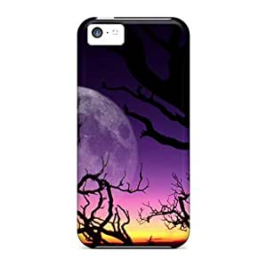 Awesome Fantasy Night Flip Cases With Fashion Design For Iphone 6 plus (5.5)