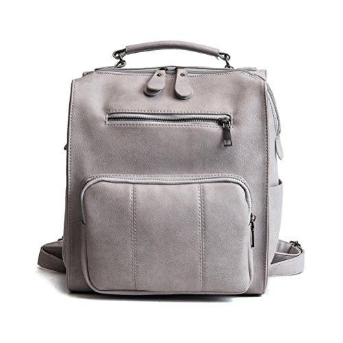 mode fourre sac tout sac multi bandoulière Gris Khaki usages à Fanshu dos à femmes dames B8qvnwI