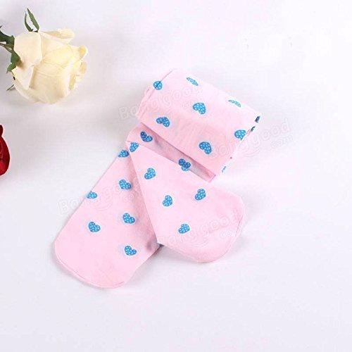 Saver Kids Girls Semi Sheer Slim Pantyhose Stockings Baby Tights High Socks Full Foot