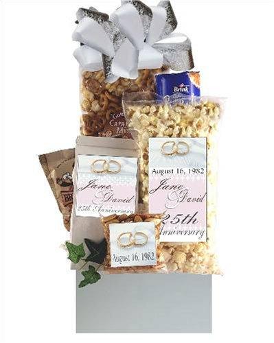 25th Wedding Anniversary Gift Basket