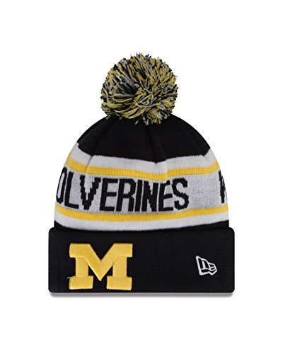 New Era NCAA Michigan Wolverines Biggest Fan Redux Beanie