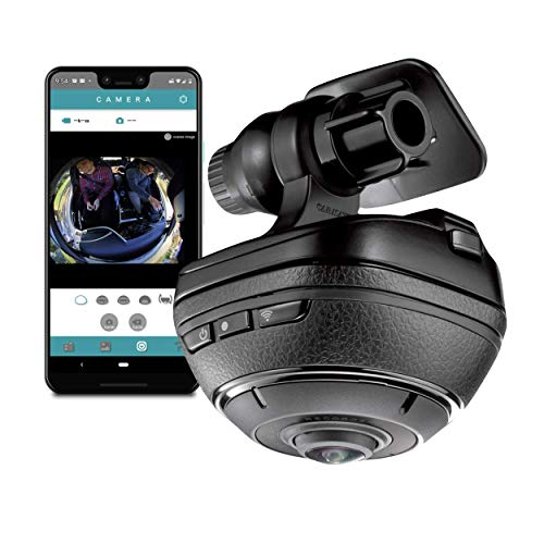 Razo d'Action 360 Dash Cam for Cars | 4k HD Video Camera | Use as Dashboard Cam, Action Camera, or Car Parking Monitor (w/ DC200A) | 16GB SD Memory Card | SEMA Show Winner