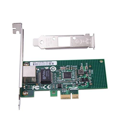 Gigabit Ethernet Serve Network Adapter(NIC) - Intel I210 Chip RJ45 Copper  Single-Port - PCI-E X1