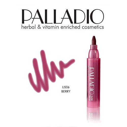 3 Pack Palladio Beauty Lip Stain 06 Berry