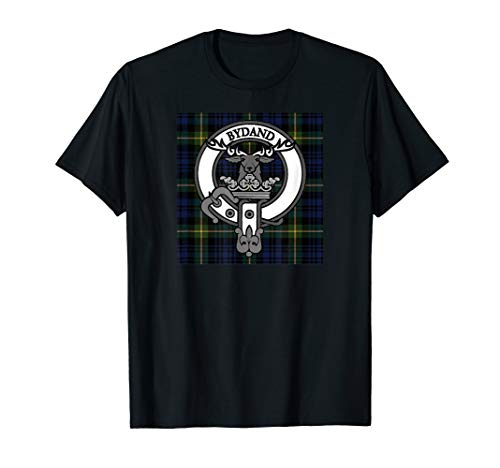 Scottish Tartan and Crest Tshirts for Clan Gordon