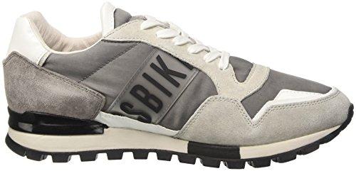 Bikkembergs Fend-Er 867, Zapatillas de Estar por Casa para Hombre gris